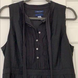 Jcrew wool tuxedo dress